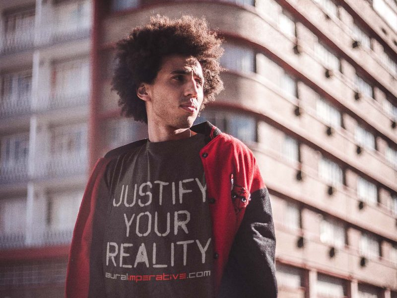 Aural Imperative Justify Your Reality Tee