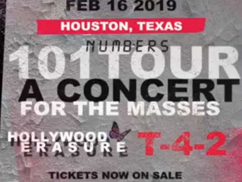 T-4-2 Live in Houston, Texas – February 16, 2019 with Devotional and Hollywood Erasure.