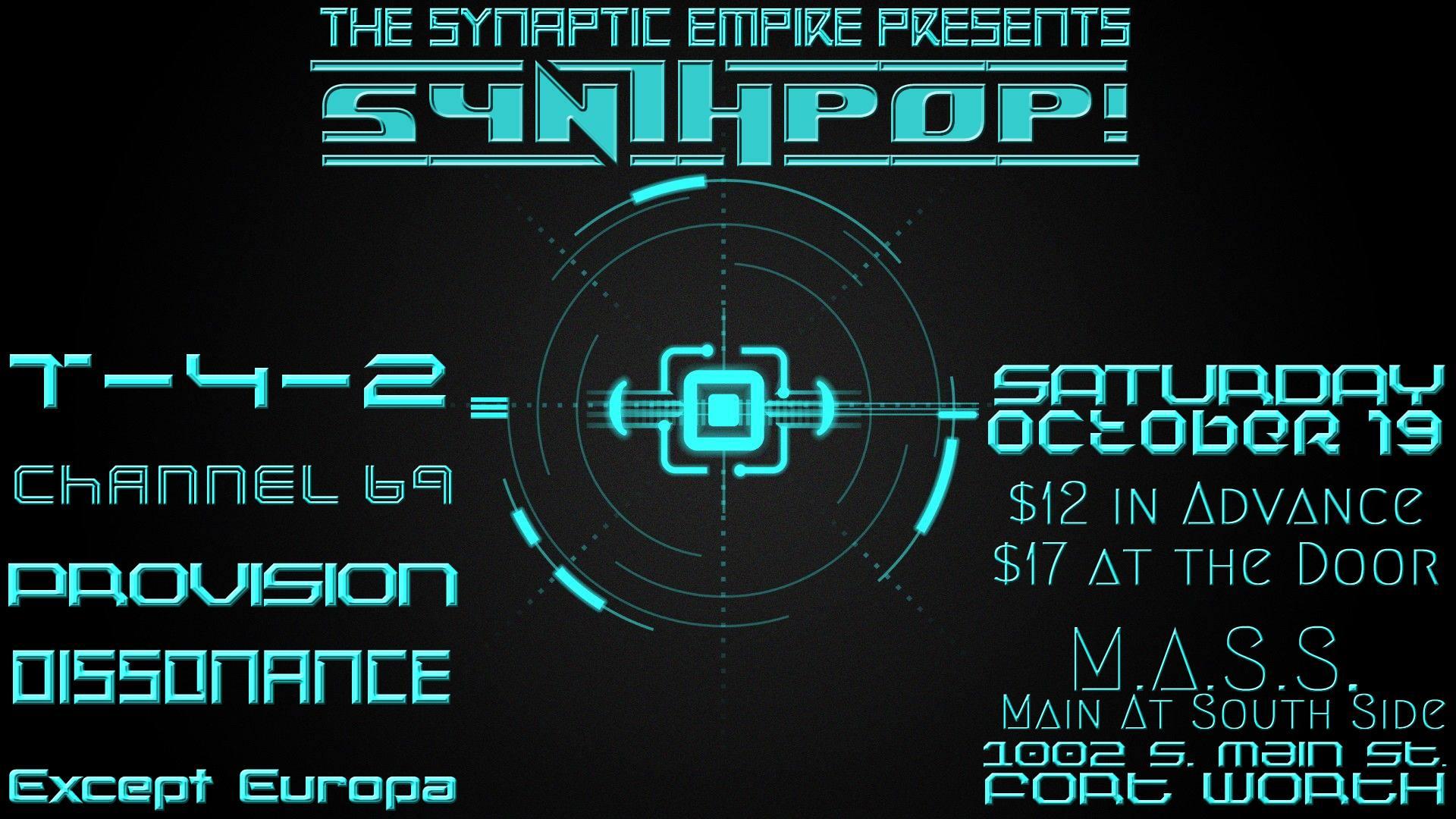 TSE: Synthpop!